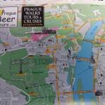 malá mapka pro cestovatele